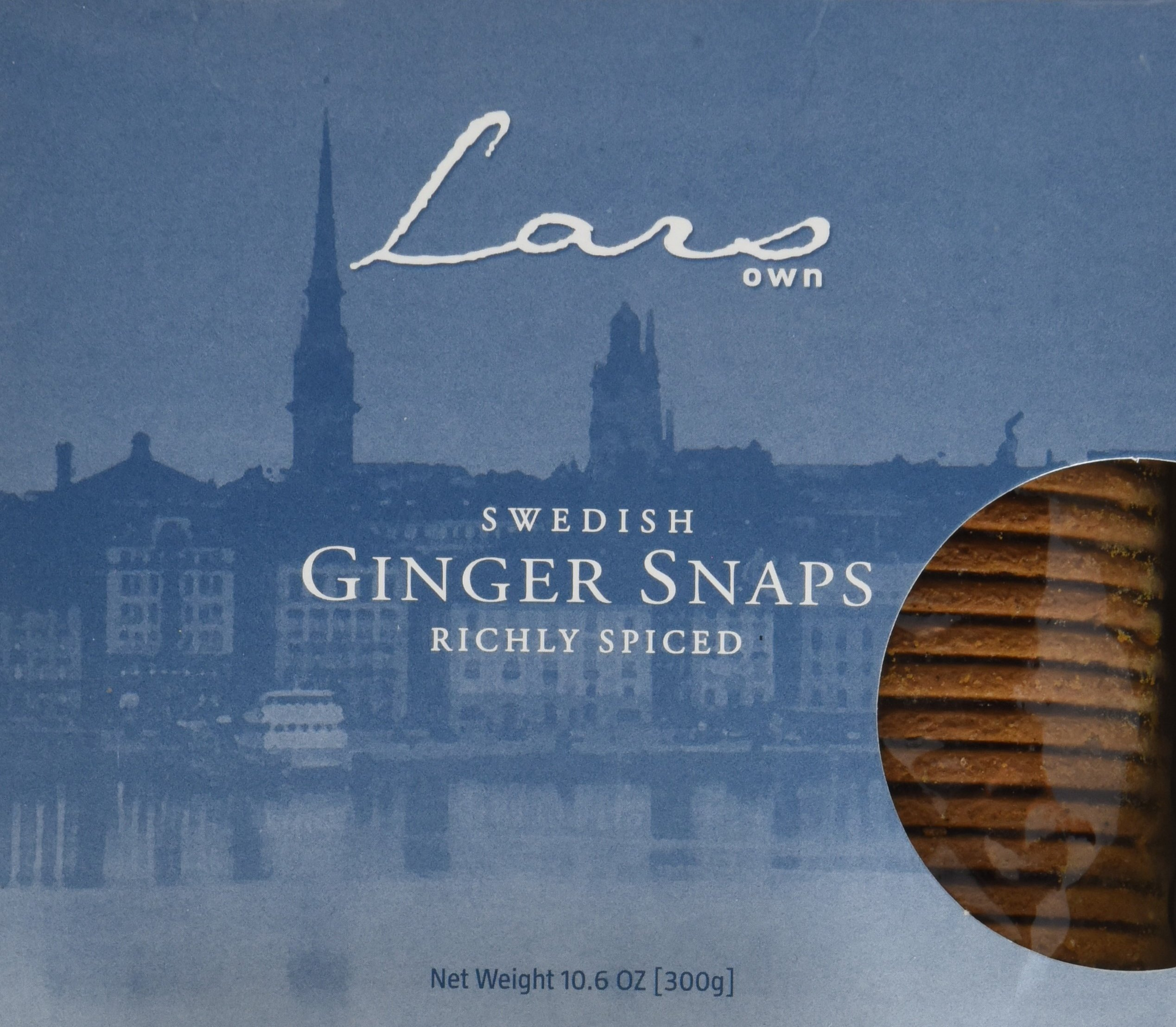 Lars' Own Swedish Ginger Snaps, Boxes, 10.6 oz by Lars' Own