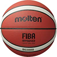 Molten BG3800 Series, Indoor/Outdoor Basketball, FIBA Approved, Size 7