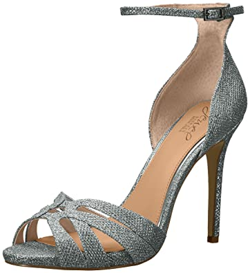 Jewel Badgley Mischka Women s Loyal Heeled Sandal   B06WGVMBHV