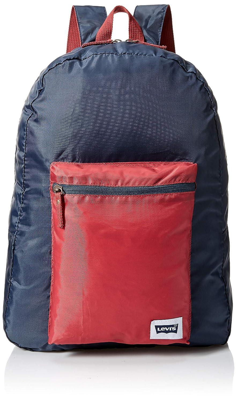 Levi's Kids' Big Packable Backpack, Black, O/S Levi' s 9A6861-023