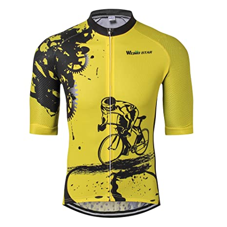 más popular retro estilo actualizado Cycle Jersey Men Cycling Jersey bike clothing bicycle top Men Ropa Ciclismo  maillot MTB jersey Racing Sport T-shirts Skull