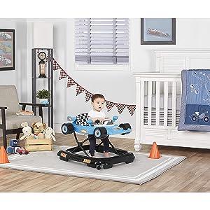 Dream On Me Victory Lane Activity Walker, Blue