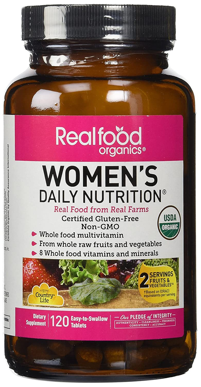 Country Life - Realfood Organics Her Daily, 120 Tablets