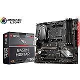 MSI B450M MORTAR Socket AM4 MicroATX Motherboard for AMD Ryzen Processors