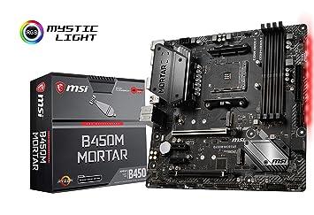 MSI B450M MORTAR (Socket AM4/B450/DDR4/S-ATA 600/Micro ATX)