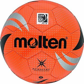 MOLTEN - Balón de fútbol, Color Naranja/Negro, Talla 5: Amazon.es ...