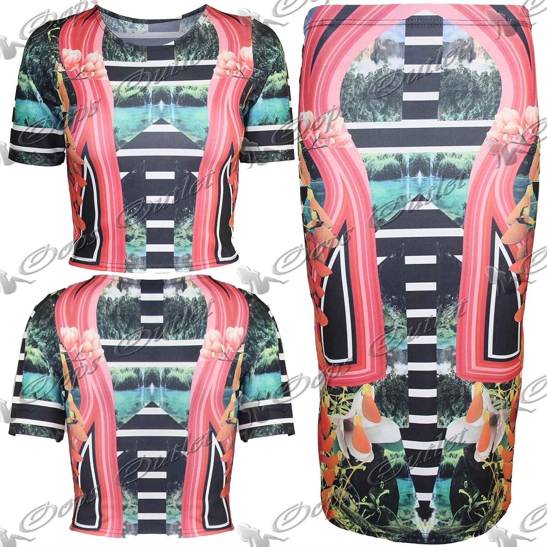 Pure Fashion Damen Kleid körperbetont Rot Medium