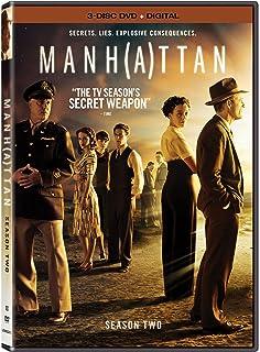 manhattan dvd  : Manhattan: Season 1 [DVD + Digital]: Rachel Brosnahan ...