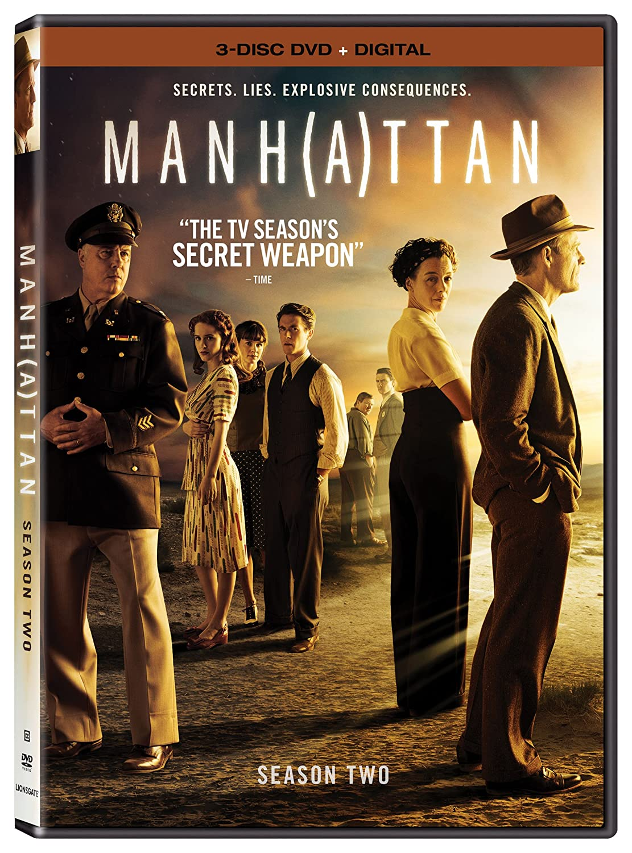 manhattan dvd  : Manhattan: Season 2 [DVD + Digital]: Rachel Brosnahan ...