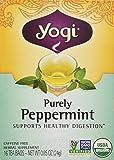 Yogi Tea Og2 Purely Peppermint 16 Bag (Pack of 3)