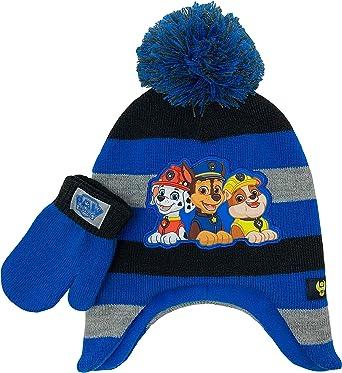 BOYS DISNEY PAW PATROL WINTER HAT,GLOVE /& SCARF SET GOOD QUALITY
