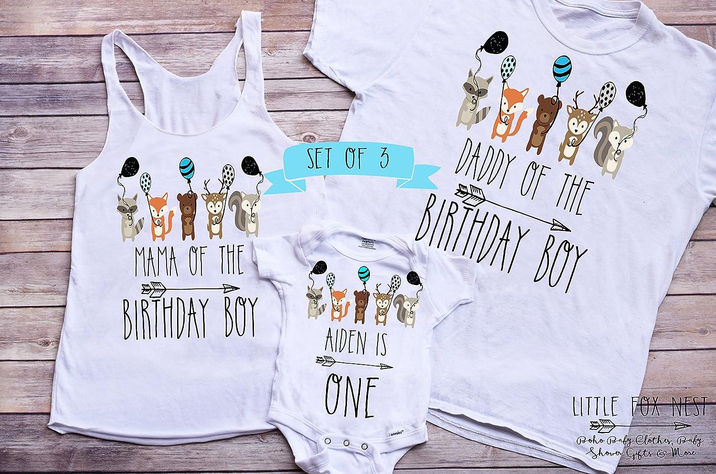 First Birthday Tee 1st Birthday Gift Wild One First Birthday T-Shirt For Boys