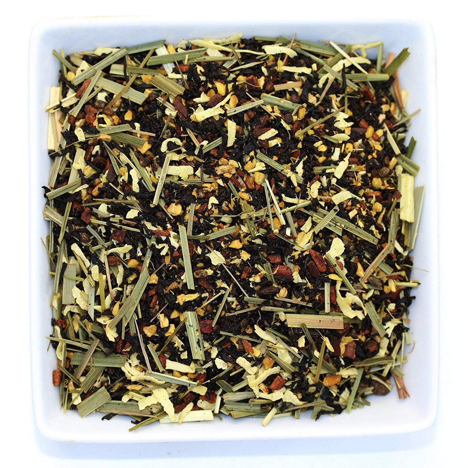 Tealyra - Thai Chai - Ginger Coconut and Lemongrass with Black Loose Leaf Tea - Exotic Unique Blend - Caffeine Medium - All Natural Ingredients - 110g (4-ounce)