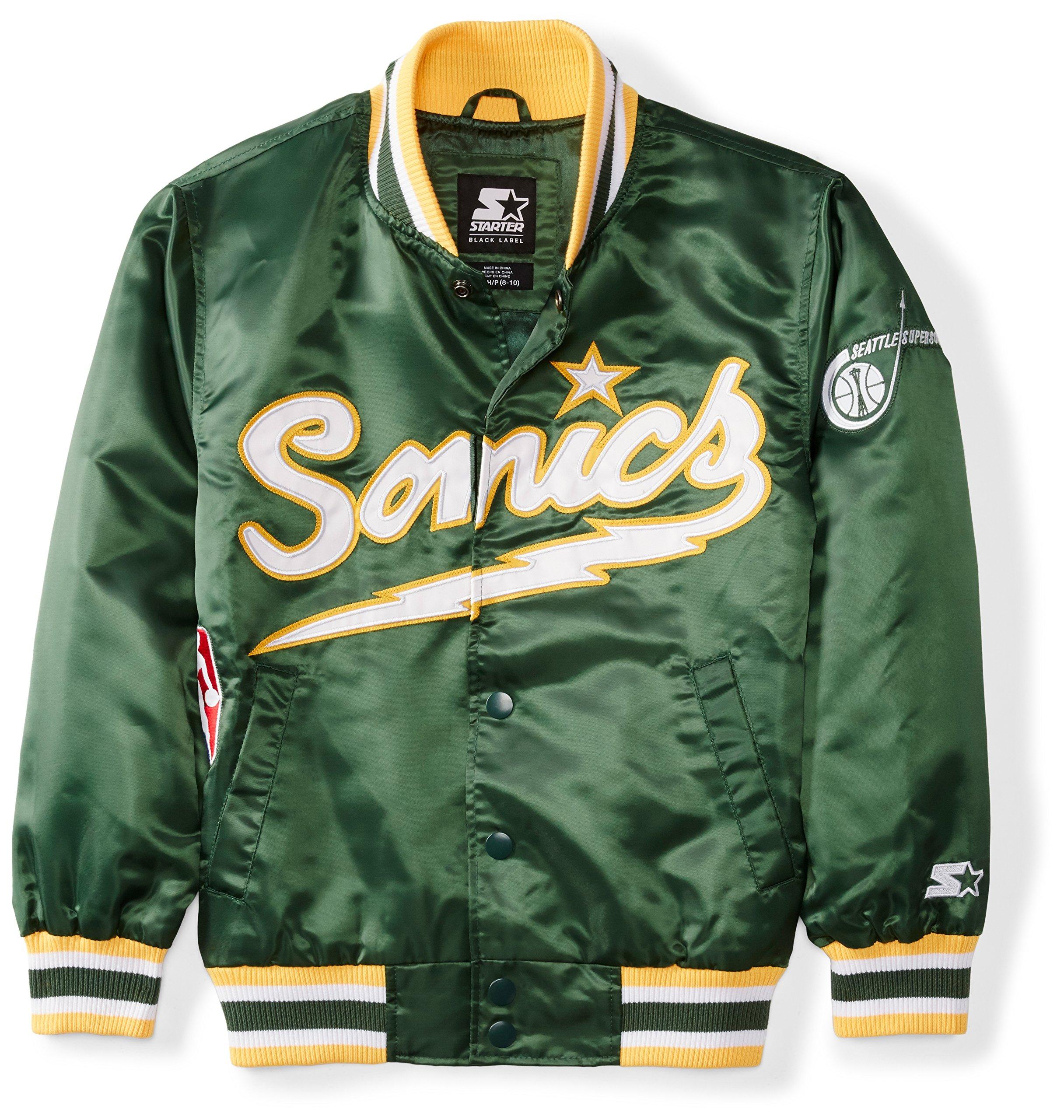 Galleon - Starter Youth NBA Seattle Sonics Jacket 3cdf06f35