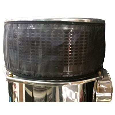 """Freedom Air Filters FAFP155200 Black 15"""" Semi/Truck Air Filter Canister Pre-Filter - Pair: Automotive"""