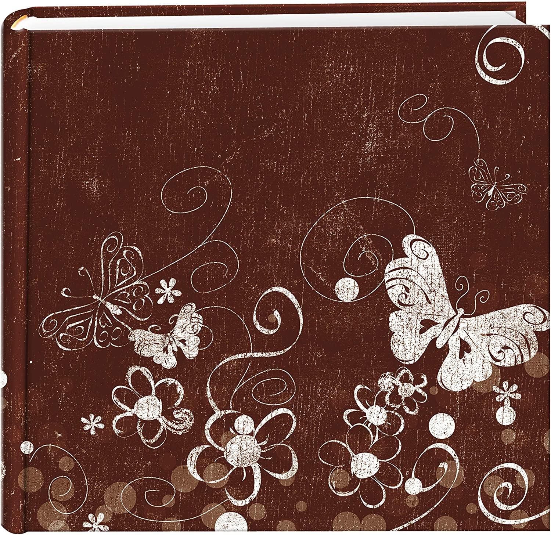 Pioneer Photo Albums EV-246CHLK//SM 200-Pocket Chalkboard PrintedSmile Theme Photo Album for 4 by 6-Inch Prints
