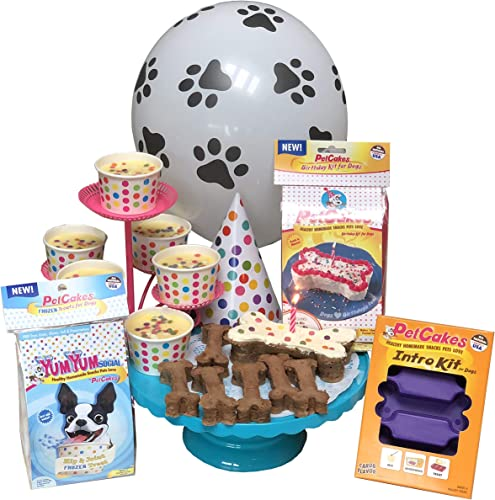 Pet Party2Go For 6 Dogs P2G-D6 Petcakes For Dogs Pet Party, Serves 6 Dogs Pack Of 6