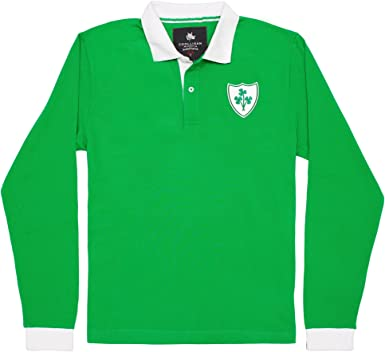 Coolligan - Polo de Fútbol Retro 1949 Ireland - Color - Verde ...