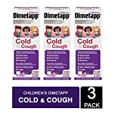 Dimetapp Cold & Cough Ecom 3 X 4 Foz, 12 Fluid Ounce