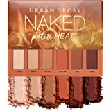 Urban Decay Naked Petite Heat Eyeshadow Palette, 6 Scorched Matte Neutral Shades - Ultra-Blendable, Rich Colors with Velvety