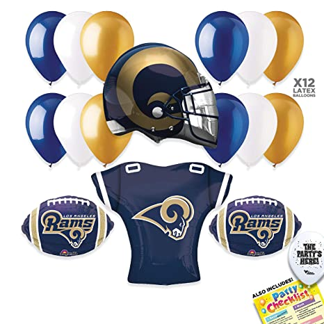 Amazon.com  Los Angeles Rams Super Bowl 53 Football NFL Sports Team ... 9654a7901