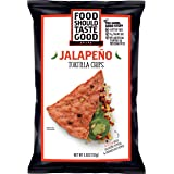 Food Should Taste Good, Tortilla Chips, Jalapeno, Gluten Free Chips, 5.5 Ounce