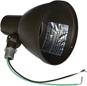 Hubbell Outdoor lighting 103-71 Incandescent Bell Lamp Holder ...