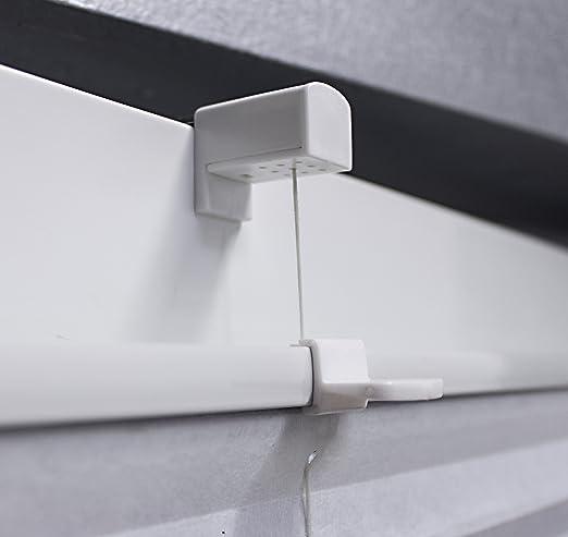 Polyester PROMO Store pliss/é//Store avec Supports de Serrage// 50x130 Sable Taille au Choix Fix sans per/çage BxH falstore