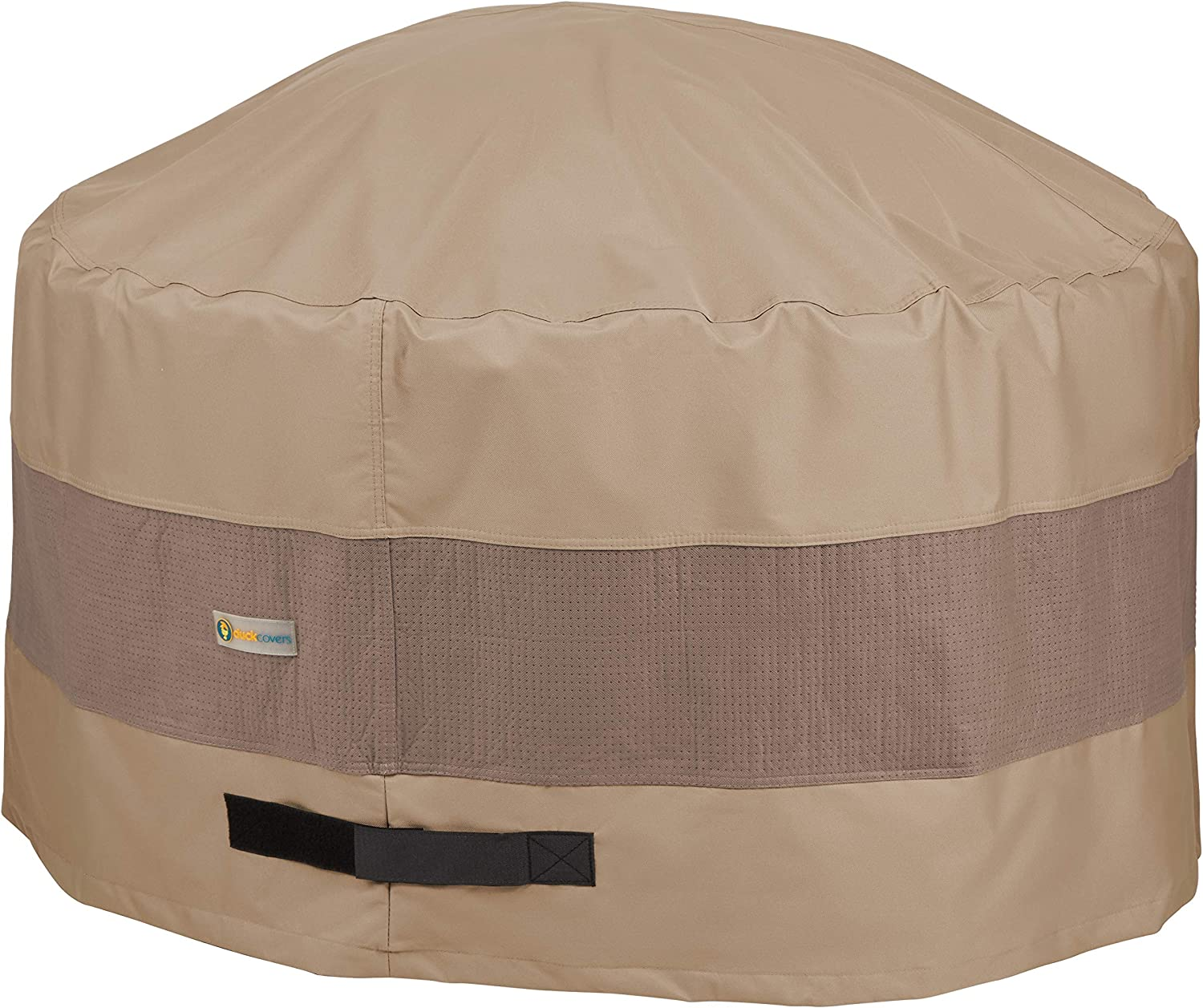 Duck Covers Elegant Water-Resistant 36 Inch Round Fire Pit Cover