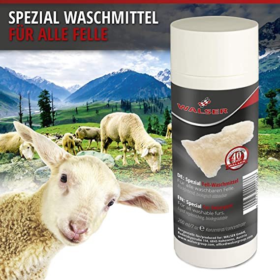 Walser Spezial Waschmittel Für Lammfell Fellwaschmittel 200ml Auto