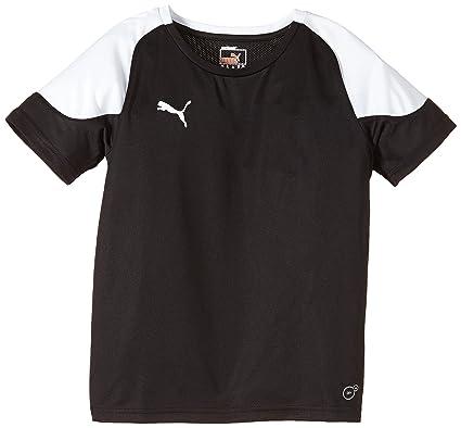 c548a40c8 Puma T-Shirt BTS - Camisa/Camiseta para niño, Color Blanco/Negro ...