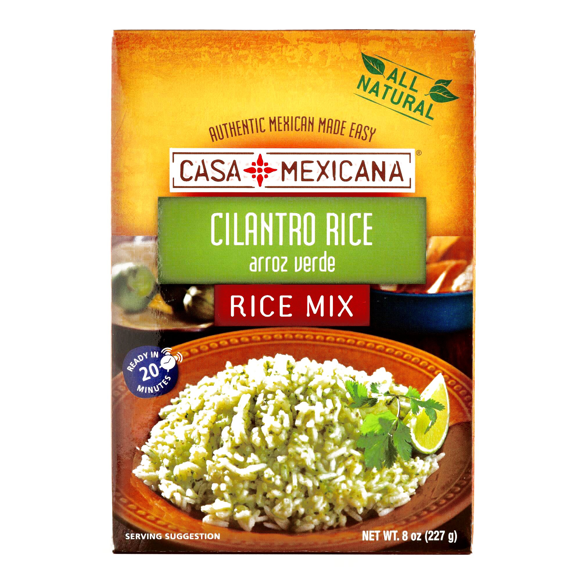 Casa Mexicana Cilantro Rice Mix 8 oz each (1 Item Per Order)