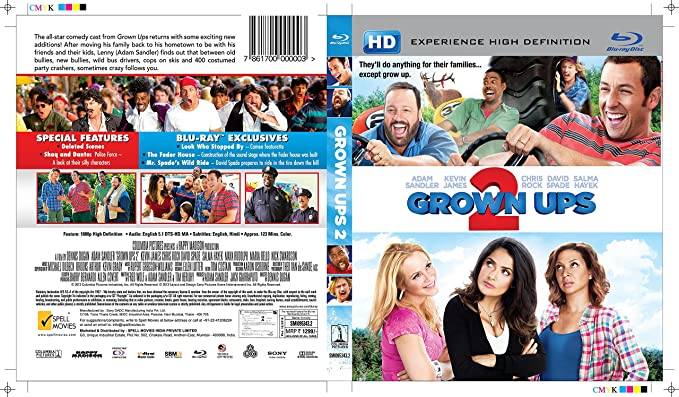 7acd1fb0a Amazon.in: Buy Grown Ups 2 DVD, Blu-ray Online at Best Prices in ...