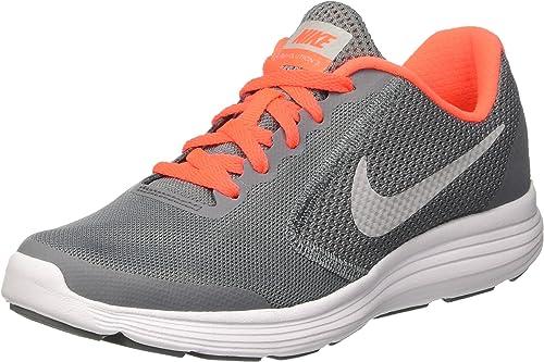 Nike Revolution 3 GS, Zapatillas de Gimnasia para Hombre, Gris (Cool Grey/Matte Silver/Dark Grey), 36 EU: Amazon.es: Zapatos y complementos