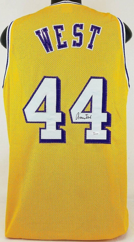lovely Jerry West Autographed Jersey - Witness  WP118909 - JSA Certified - Autographed  NBA Jerseys a64f0736e