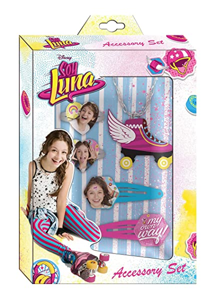 Amazon.com: Soy Luna Jewelery Set Hair Accessories 5pcs Set Bisuteria: Toys & Games