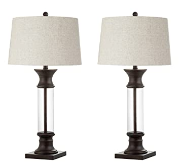 Jonathan Y Jyl4000a Set2 Cottage Rustic French Country Table Lamp