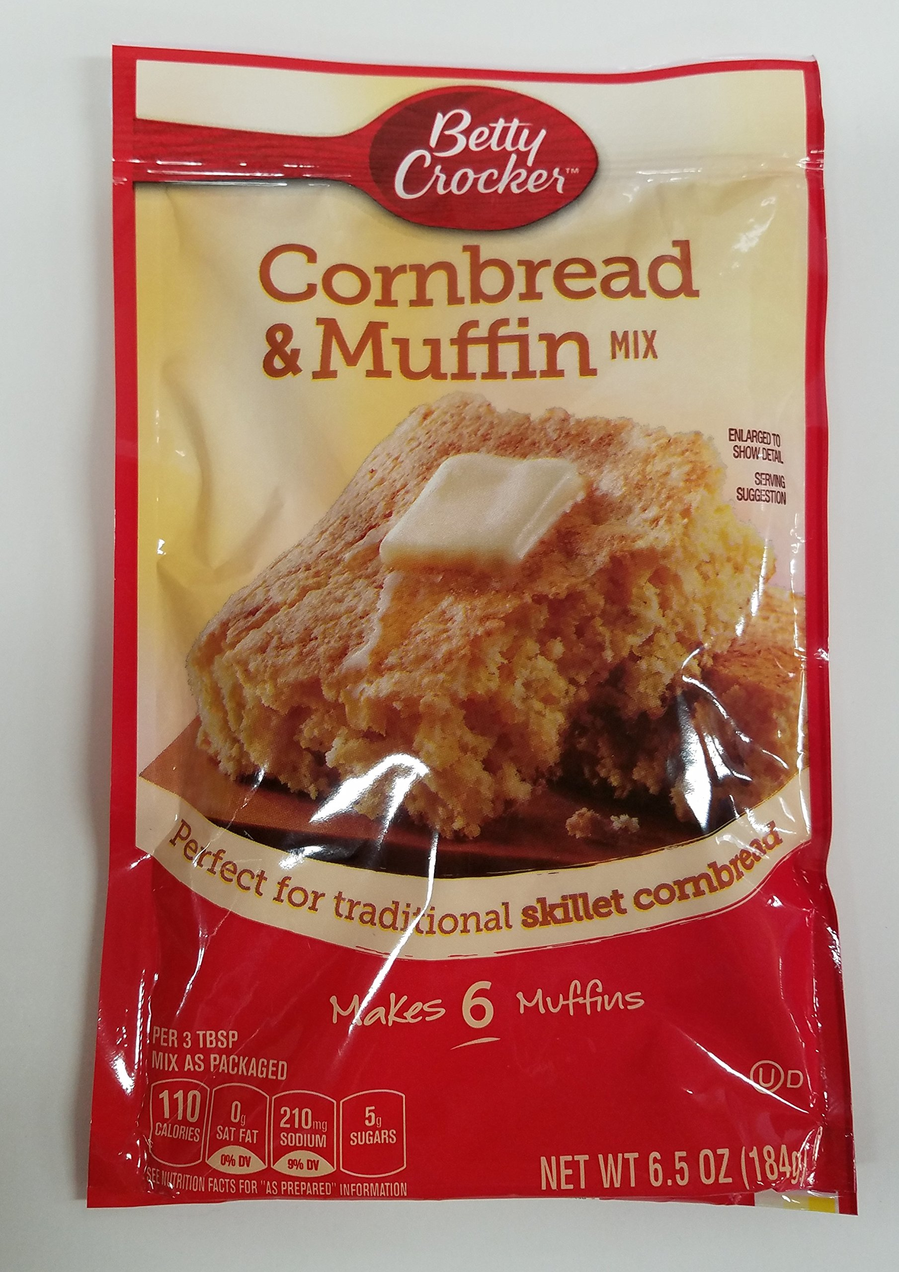 Betty Crocker Betty Crocker Authentic Cornbread & Muffin Mix, 6.5 oz (Pack of 9)