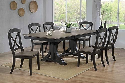 Iconic Furniture Company 7- Piece Set GreyStone Black stone