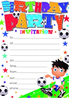 Party Invitations With Envelopes Pack Of 20