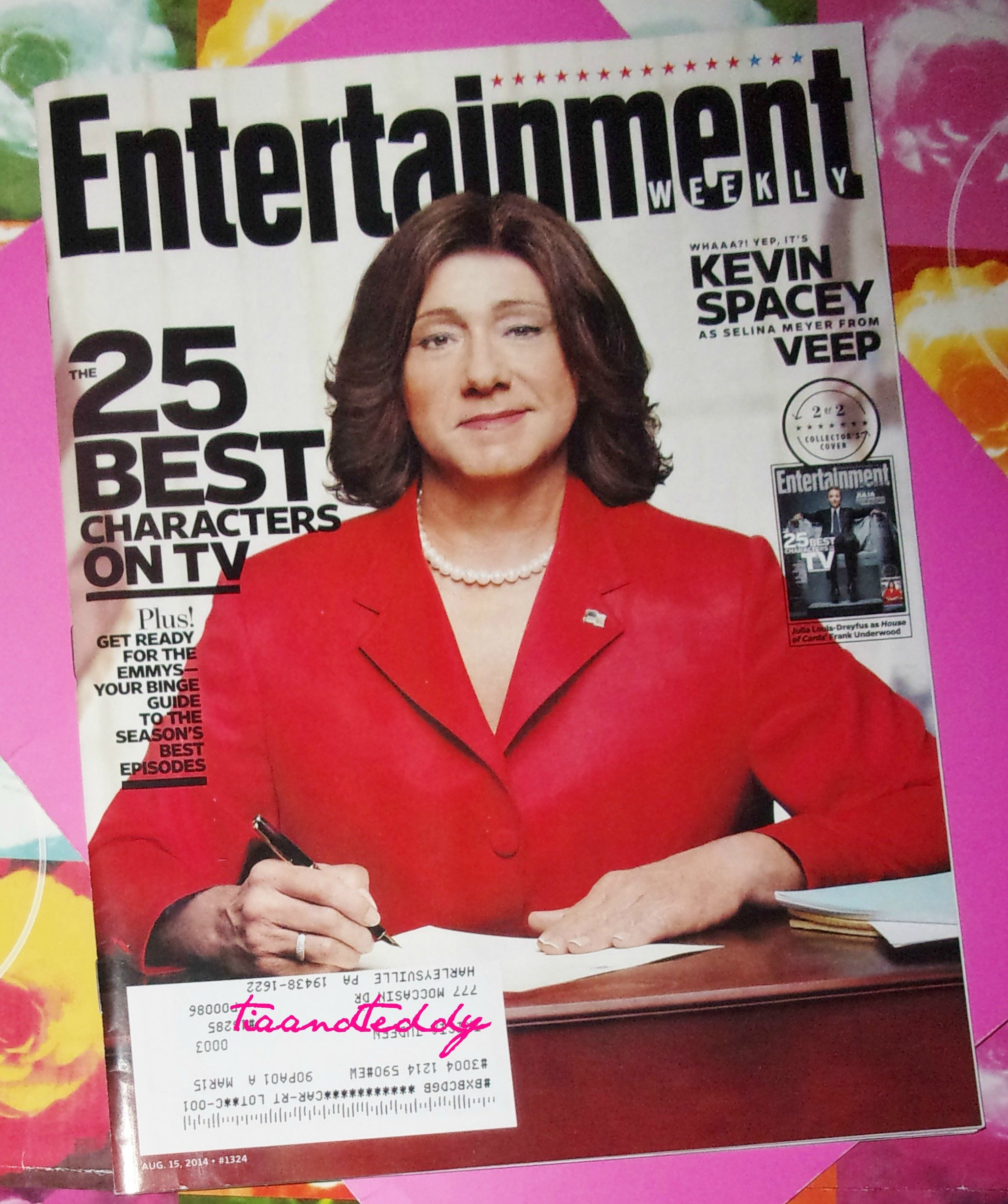 Read Online Entertainment Weekly August 15, 2014 Kevin Spacey as Selina Meyer From Veep ebook