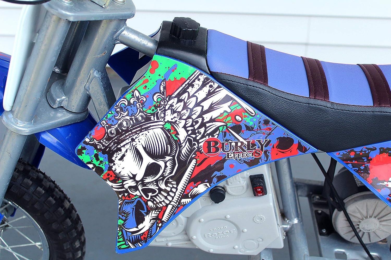 Burly Effects Graphics kit for Razor MX350 MX400 MX500 MX650 Electric Dirt Bikes MX500 /& MX650
