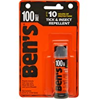 Ben's 100% DEET Mosquito, Tick and Insect Repellent, 0.5 Ounce Pump