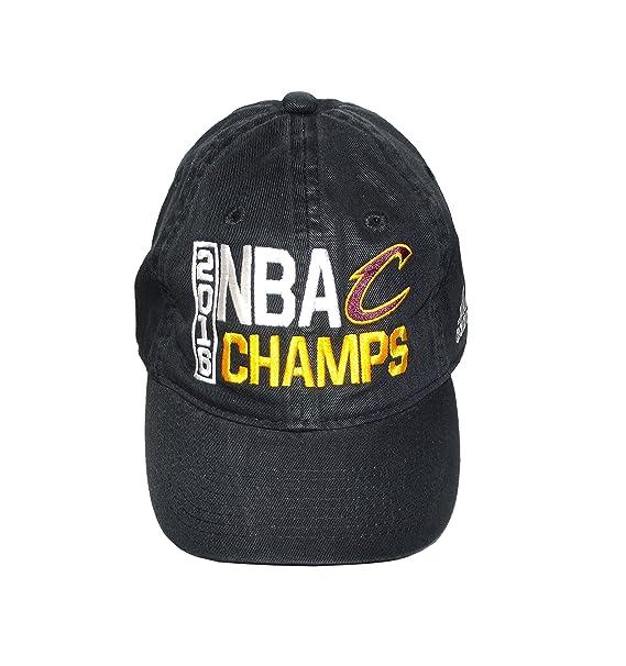 ad0d48a64 Cleveland Cavaliers Black 2016 NBA Finals Champions Locker Room Champs  Adjustable Dad Hat / Cap