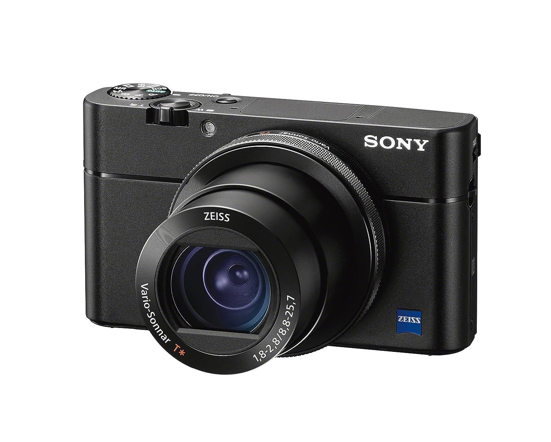 "Sony RX100VA 20.1MP Digital Camera: RX100 V Cyber-shot Camera with Hybrid 0.05 AF, 24fps Shooting Speed & Wide 315 Phase Detection - 3"" OLED Viewfinder & 24-70mm Zoom Lens - Wi-Fi Connectivity - Black"