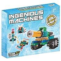 Le kit robot pour enfants - Le Kit de construction de jouet télécommandé Ingenious Machines - Le fantastique et amusant Kit Robot &jouet de constructionTG633 par ThinkGizmos Protection de marque (Toutes les piles sont fournies)