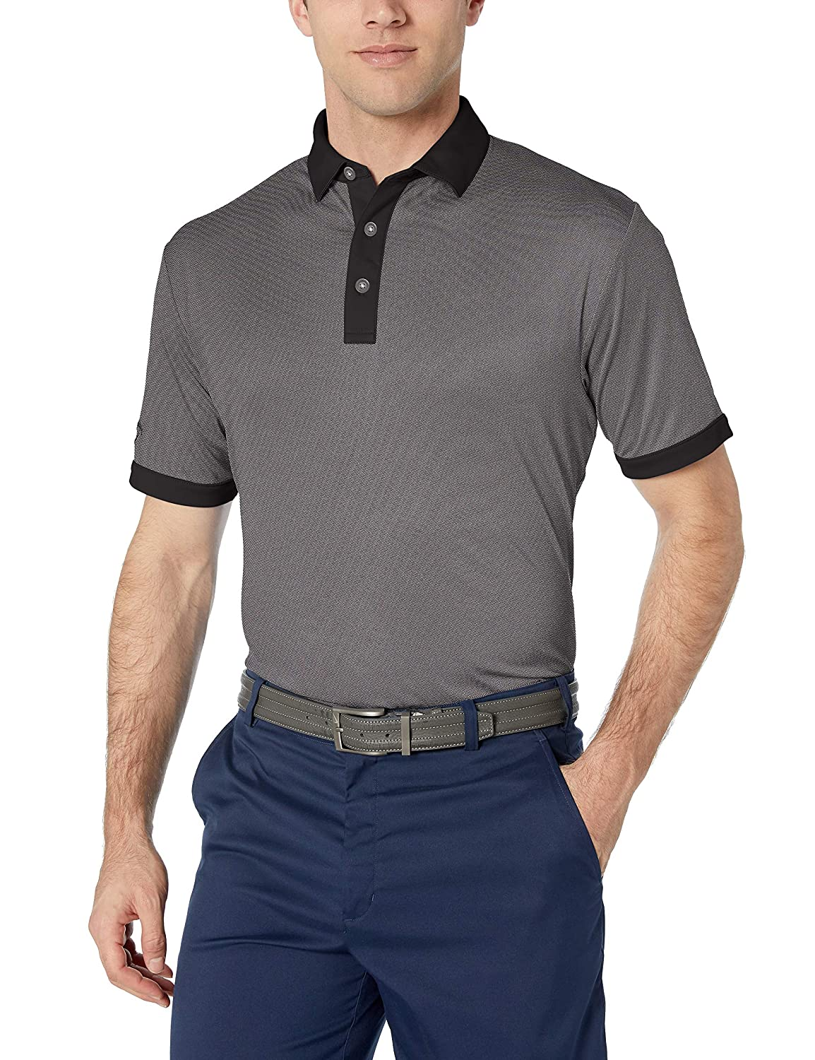 Callaway Basics Short Sleeve Oxford Polo Shirt