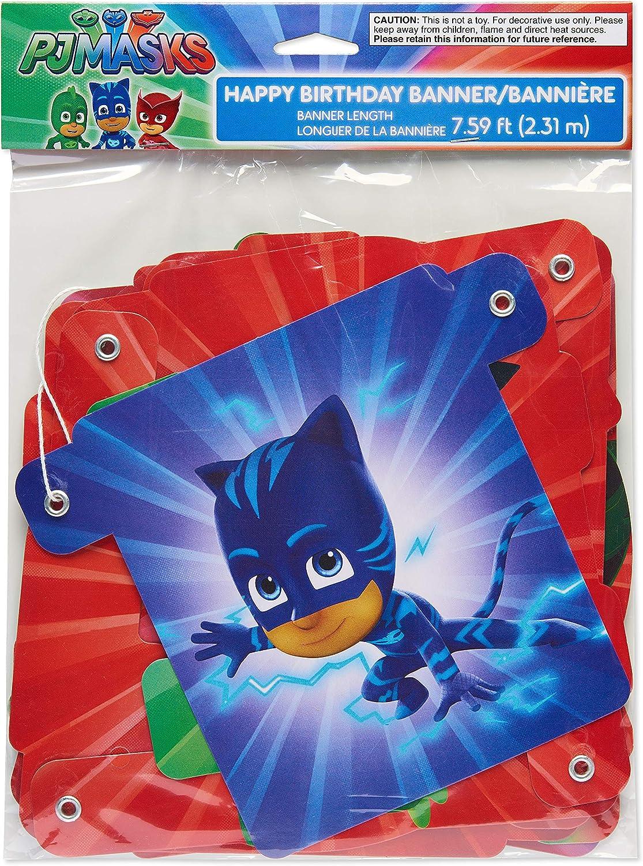 Amazon.com: American Greetings PJ Masks - Mantel de plástico ...