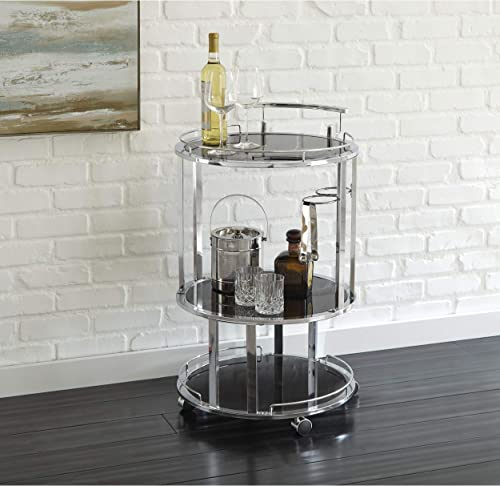 Greyson Living Odessa Round Server Cart by