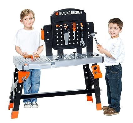 Fabulous Black Decker Jr Black Decker Jr Ultimate Project Workbench Playset Ibusinesslaw Wood Chair Design Ideas Ibusinesslaworg